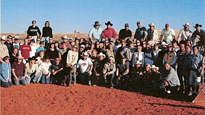 The entire CMT Cast and Crew for Cowboy University, taped at the Flying W Guest Ranch in Sayre, Oklahoma