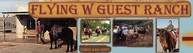 Flying W Guest Ranch, Frontier Town, Museum and Buffalo Kill Tours