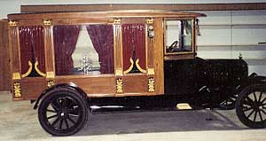 This 1860 Hearse is one of many in the Museum at the Flying W Guest Ranch
